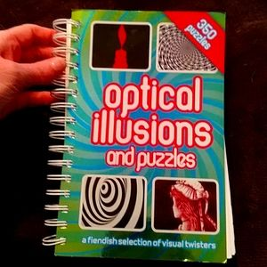 Optical Illusions and Puzzles a book